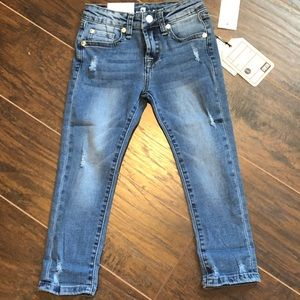 Girls 7 for all mankind jeans